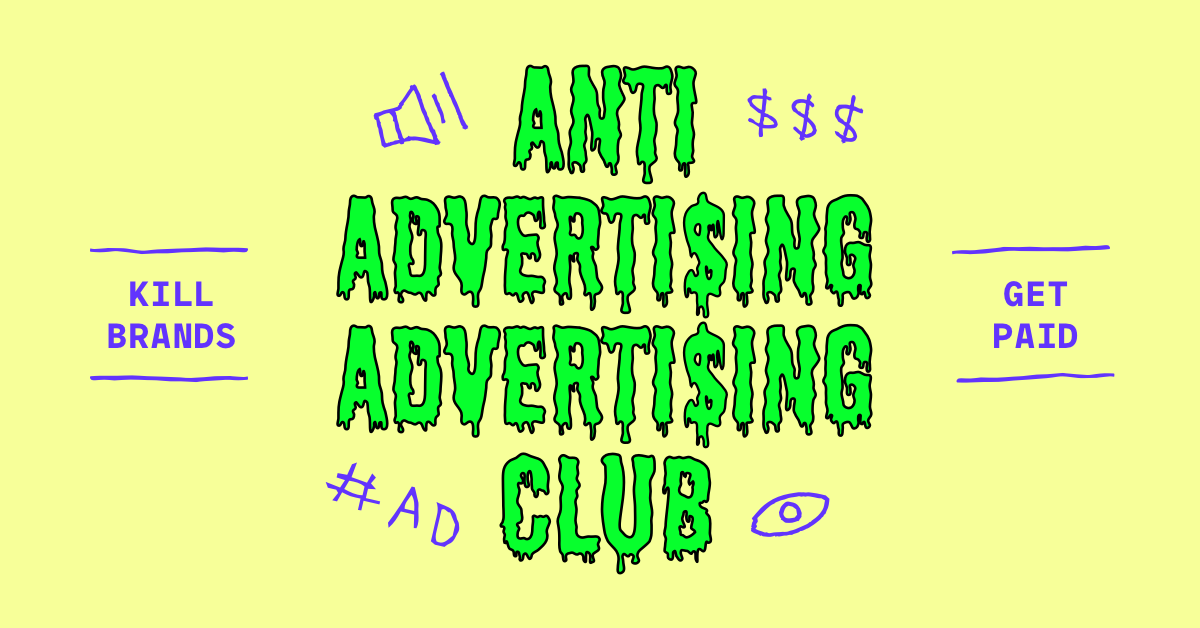 Anti Ad Ad Club